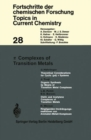 Complexes of Transition Metals - Book