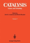 Catalysis: Science and Technology - Book