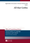 All That Gothic - Book