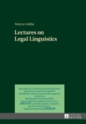 Lectures on Legal Linguistics - eBook