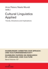 Cultural Linguistics Applied : Trends, Directions and Implications - eBook