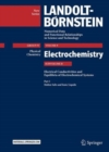 Part 1: Molten Salts and Ionic Liquids : Subvolume B: Electrical Conductivities and Equilibria of Electrochemical Systems - Volume 9: Electrochemistry - Group IV: Physical Chemistry  - Landolt-Boernst - Book
