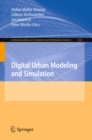 Digital Urban Modeling and Simulation - eBook