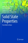 Solid State Properties : From Bulk to Nano - Book