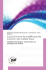 Calcul Inverse Du Coefficient de Transfert de Chaleur Local - Book