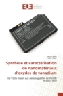 Synth se Et Caract risation de Nanomat riaux D Oxydes de Vanadium - Book