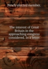 The Interest of Great Britain - Book