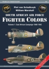 South African Air Force Fighter Colors : Volume 1: East African Campaign 1940-1942 - Book