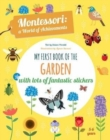 My First Book of the Garden: Montessori a World of Achievements - Book