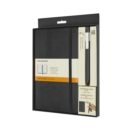 Moleskine Classic Notebook and Classic Click Roller Pen - 0.5mm - Book