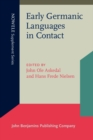 Early Germanic Languages in Contact - Book