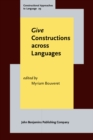 <i>Give</i> Constructions across Languages - eBook