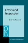 Errors and Interaction : A cognitive ethnography of emergency medicine - eBook