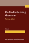 On Understanding Grammar : Revised edition - eBook