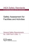 Safety Assessment for Facilities and Activities : General Safety Requirements - Book
