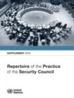 Repertoire of the Practice of the Security Council: Supplement 2018 - Book