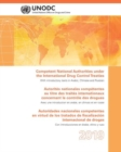 Competent National Authorities under the International Drug Control Treaties 2016 - Book