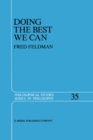 Doing the Best We Can : An Essay in Informal Deontic Logic - eBook