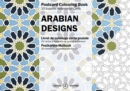 Arabian Designs : Postcard Colouring Book - Book