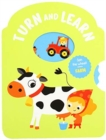 TURN & LEARN FARM ANIMALS - Book