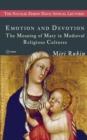 Emotion and Devotion : The Meaning of Mary in Medieval Religious Cultures - Book