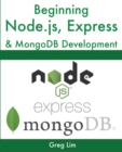 Beginning Node.js, Express & MongoDB Development - Book