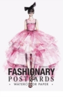 Fashionary Watercolor Postcards (Womens Figure Templates) - Book
