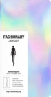 Fashionary Mini Neon Light Womens Sketchbook A6 (Set of 3) - Book