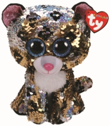 Sterling Leopard Flippable Beanie Boo, General merchandize Book