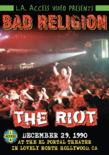 Bad Religion: The Riot, DVD  DVD