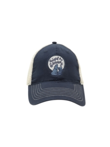Raised By Books Trucker Cap, Paperback Book