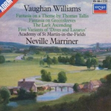 Vaughan Williams: Tallis Fantasia / Greensleeves, CD / Album Cd