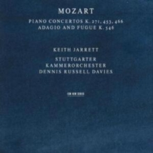 Mozart Piano Concertos K271, 453, 466/Adagio and Fugue K546, CD / Album Cd