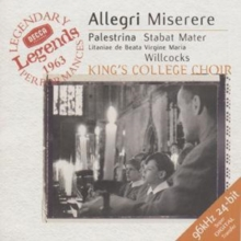 Allegri: Miserere, ect., CD / Album Cd