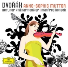 Anne-Sophie Mutter: Dvorák, CD / Album Cd