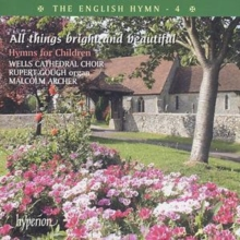 English Hymn - 4, The/all Things Bright and Beautiful, CD / Album Cd