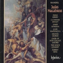 Handel: Judas Maccabaeus, CD / Album Cd
