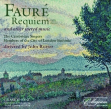 Faure: Requiem and Other Sacred Music, CD / Album Cd