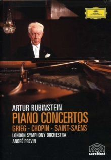 Rubinstein: In Concert, DVD  DVD
