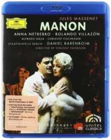 Manon: Staatskapelle Berlin (Barenboim), Blu-ray  BluRay