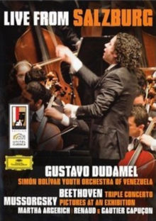 The Simon Bolivar Youth Orchestra of Venezuela: Live From..., DVD DVD