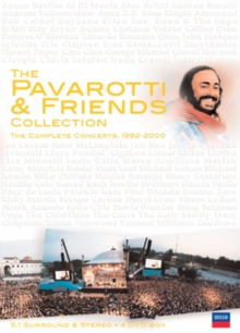 Pavarotti: The Pavarotti and Friends Collection, DVD  DVD