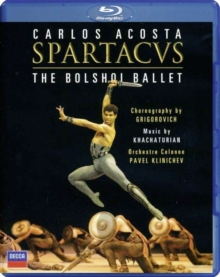 Spartacus: The Bolshoi Ballet, Blu-ray  BluRay