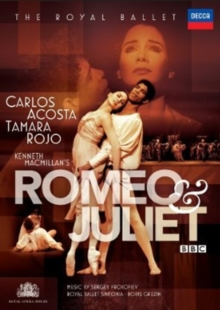 Romeo and Juliet: The Royal Ballet (Gruzin), Blu-ray  BluRay