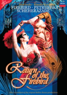 Return of the Firebird, DVD  DVD
