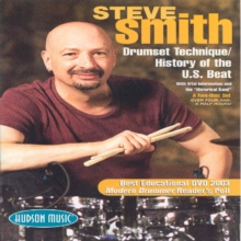 Steve Smith: Drumset Technique/History of the US Beat, DVD  DVD