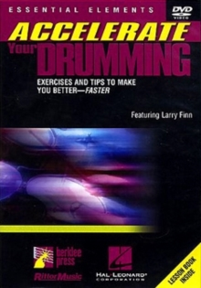 Accelerate Your Drumming, DVD  DVD