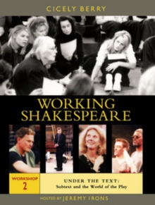 Working Shakespeare: Volume 2 - Under the Text, DVD  DVD