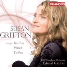 Susan Gritton Sings Britten, Finzi, Delius, CD / Album Cd
