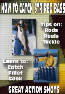 How to Catch Striped Bass, DVD  DVD